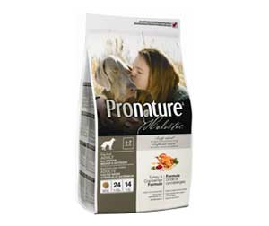 Сухой Корм Pronature (Пронатюр) Holistic Adult All Breed Turkey & Cranberries Для Собак Всех Пород с Индейкой и Клюквой 2,72кг