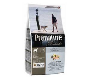 Сухой Корм Pronature (Пронатюр) Holistic Adult All Breed Atlantic Salmon & Brown Rice Для Собак Всех Пород с Чувствительной Кожей с Лососем и Бурым Рисом 340г