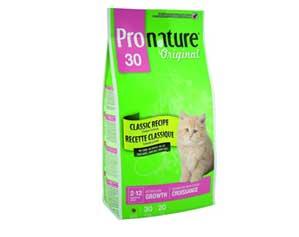 Сухой Корм Pronature-30 (Пронатюр) Original Kitten Growth Classic Recipe Chicken Для Котят Цыпленок 2,72кг (1*4)