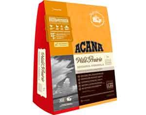 Беззерновой Сухой Корм Acana (Акана) Для Собак Всех Пород Курица (Цыпленок, Индейка, Яйцо, Овощи и Фрукты) Regionals Wild Prairie 340г