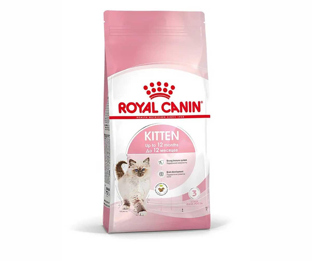 Сухой Корм Royal Canin (Роял Канин) Feline Health Nutrition Kitten 36 Для Котят от 4 до 12 Месяцев 4кг