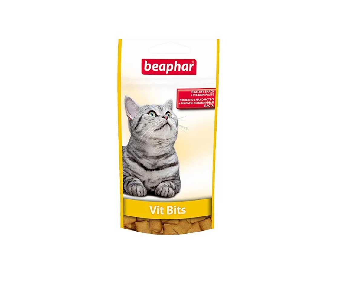 Beaphar (Беафар) Подушечки Vit Bits (Вит Битс) 35г 12625