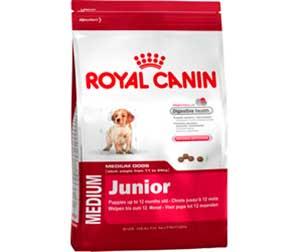 Сухой Корм Royal Canin (Роял Канин) Для Щенков Средних Пород Size Health Nutrition MEDIUM Junior 15кг + 3кг АКЦИЯ!