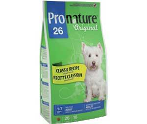 Сухой Корм Pronature (Пронатюр) Original 26 Adult Dog Small & Medium Breed Classic Recipe Chicken Для Собак Мелких и Средних Пород Курица 2,72кг (1*4)