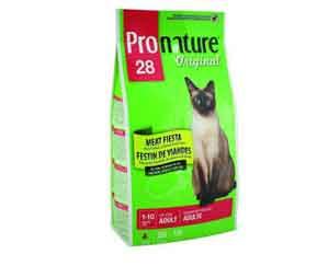 Сухой Корм Pronature (Пронатюр) Original Adult Cat Meat Fiesta Chicken, Salmon & Lamb Для Кошек Мясной Праздник (Курица, Лосось и Ягненок) 350г