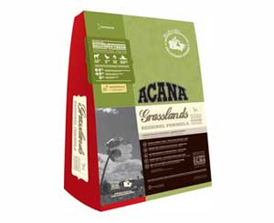 Беззерновой Сухой Корм Acana (Акана) Dog Regionals Grasslands Lamb Для Собак Всех Пород Ягненок (ягненок, утка, яйцо, овощи и фрукты) 2,27кг