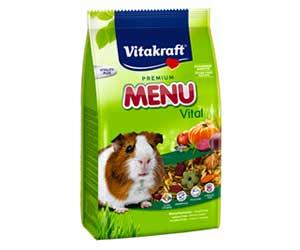 Корм Для Морских Свинок Vitakraft (Витакрафт) Premium Menu Vital Основной 1кг + 20%