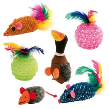 Игрушки для животных своими руками