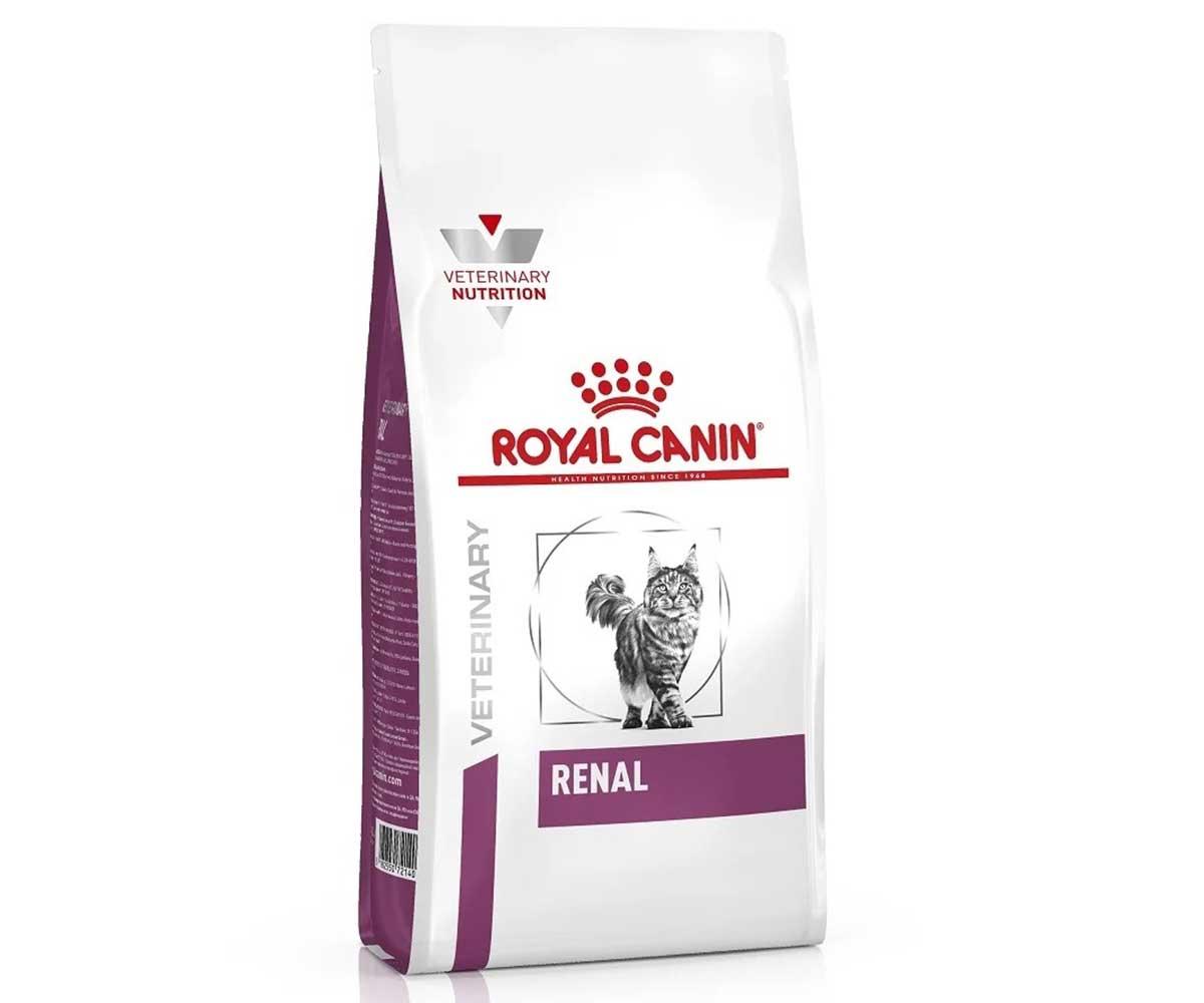 Лечебный Сухой Корм Royal Canin (Роял Канин) Veterinary Diet Feline Renal RF23 Для Кошек При Почечной Недостаточности 2кг